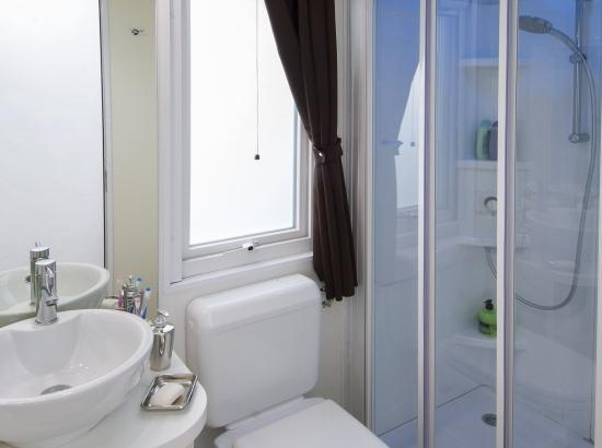 Badezimmer der Bungalow