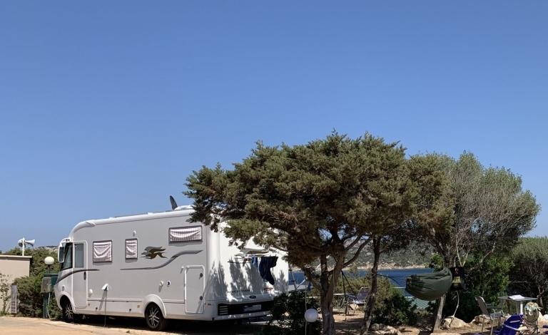 Isola dei Gabbiani: Seaside Campsite in Palau, Northern Sardinia