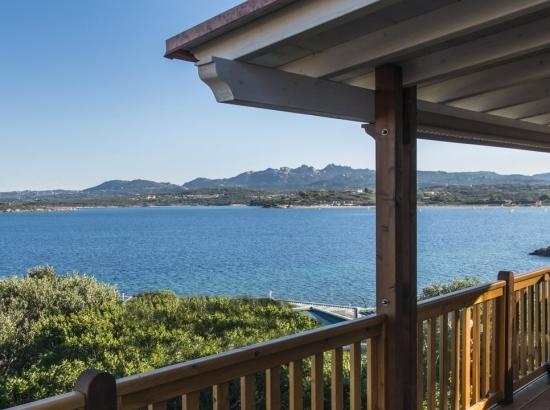 Meerblick von der Veranda des Bungalows der Seaside Suite